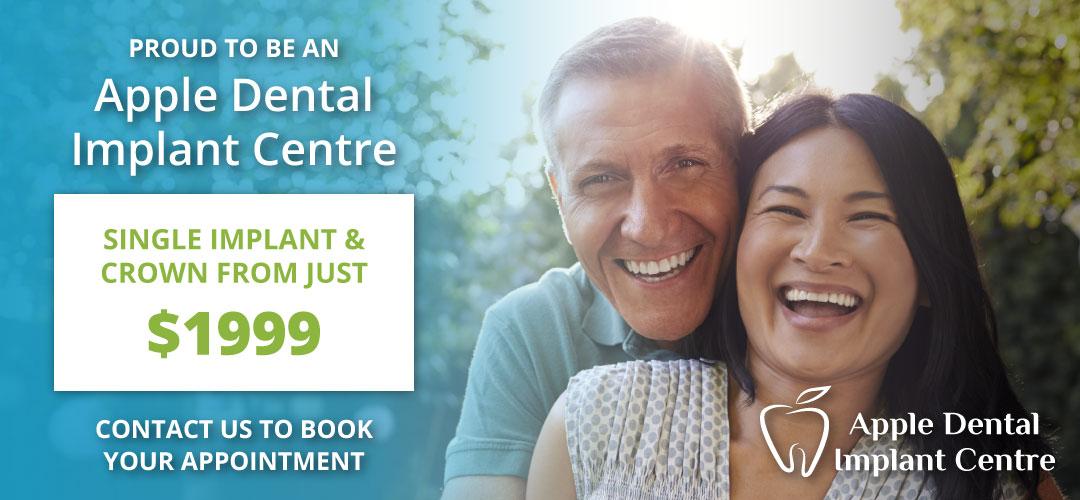 Apple Dental Implant Centre Member Banner